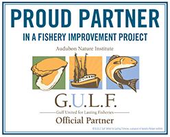 Audobon Fishery Improvement Projects: GULF Logo