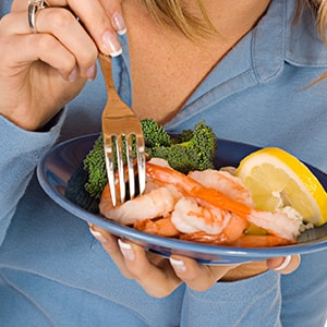 Shrimp can provide you with your daily recommended dose of selenium
